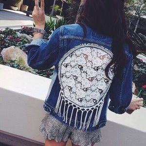 LF Dreamcatcher Denim Jacket